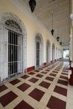 Kolonisty Cienfuegos miasto na Kuba Zdjęcie Royalty Free
