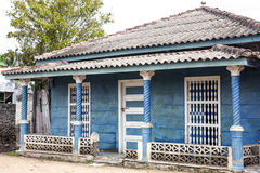 Kolonisty dom Cartagena De Indias Zdjęcia Royalty Free