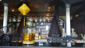Kolonisty stylu bar w da nang zdjęcie stock