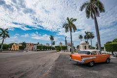 Kolonkyrkogården i Havana Cuba Arkivbild