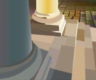 kolonn Royaltyfri Illustrationer