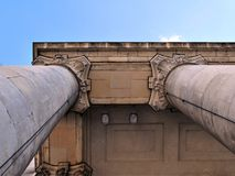 kolonn arkivbild