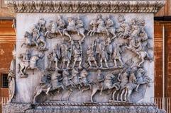 Kolonn av Antoninus Pius Arkivfoto