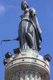 Kolonn av gudinnan i Lille Arkivbilder