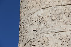 Kolonn för Trajan ` s arkivfoton