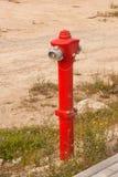 Kolonn för vattenfördelning som installeras för brandsäkerhet För brandstridighet Baku Azerbajdzjan arkivbilder