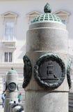 Kolonn i Viena Royaltyfria Bilder