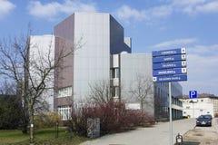 Kolonn med pilar Arkivbild
