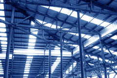 Kolonn och tak Fotografering för Bildbyråer