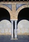 kolonn tunisia Arkivbild
