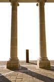 kolonn två Arkivbild