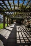 Kolonnaddalträdgårdar, Harrogate, Yorkshire, England Royaltyfri Bild