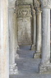 Kolonnade des Klosters Stockbilder