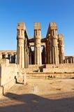 Kolonnade des Luxor-Tempels lizenzfreies stockfoto
