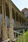 Kolonnade in Karlovy unterscheiden sich, Tschechische Republik Lizenzfreie Stockfotos