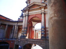 Kolonnader av San Luca Arkivbilder