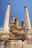 kolonnephesusstatyer Royaltyfria Foton