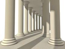 kolonner Arkivfoto