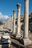 Kolonner av Ephesus Arkivbild