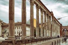 Kolonner av San Lorenzo Arkivbilder