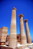 Kolonner av templet arkivbild