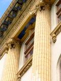 kolonner blåste flöjt utsmyckat arkivfoto