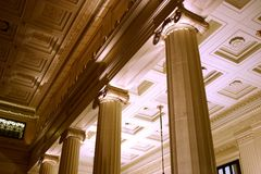 kolonner fyra Royaltyfri Foto