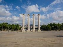 kolonner fyra Royaltyfri Fotografi