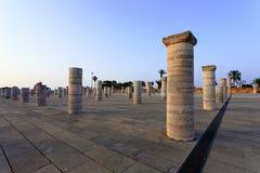 Kolonner i Rabat Fotografering för Bildbyråer