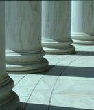 Kolonner i Washington med kort djup av fältet Royaltyfria Bilder
