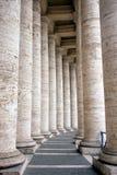 kolonner långt Royaltyfri Fotografi