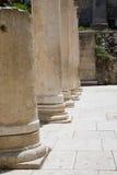 kolonner roman jerusalem Royaltyfria Bilder