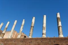 kolonner rome Royaltyfri Fotografi
