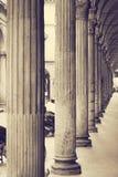 Kolonner Universitet av bolognaen italy Royaltyfri Fotografi