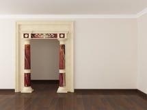 kolonningångslokal till Arkivbilder