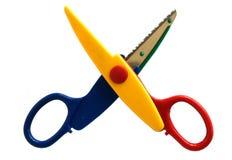 Kolorów nożyce dla hobby fotografia stock