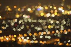 Kolorów świateł tło Zdjęcia Royalty Free