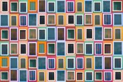 kolorów 78 okno starych ustalonych Obrazy Royalty Free