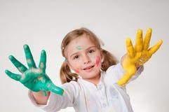 kolorów bawić się Zdjęcie Royalty Free