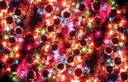 kolorów bożych narodzeń tło Fotografia Stock