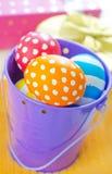 Kolorów jajka Zdjęcie Stock