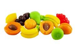 Kolorów jellys w postaci owoc Obraz Royalty Free