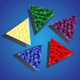 Kolorów kamienie Obrazy Royalty Free
