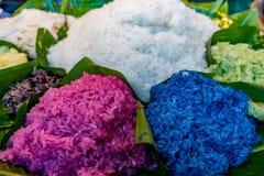 Kolorów kleiści ryż Zdjęcia Royalty Free