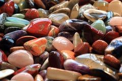 kolorów klejnotów kopaliny kolekcja Fotografia Stock