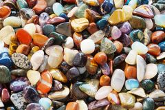 kolorów klejnotów kopaliny kolekcja Zdjęcie Stock