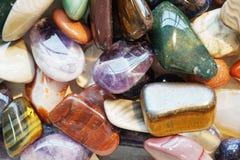 kolorów klejnotów kopaliny kolekcja Obrazy Royalty Free