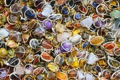 kolorów klejnotów kopaliny kolekcja Zdjęcia Royalty Free