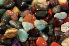 kolorów klejnotów kopaliny kolekcja Zdjęcie Royalty Free