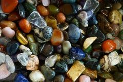 kolorów klejnotów kopaliny kolekcja Fotografia Royalty Free